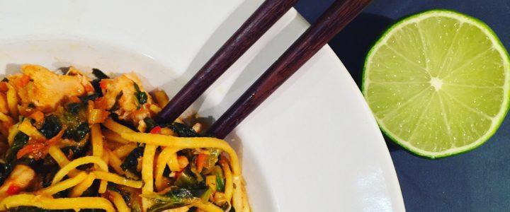Asiatisk pasta